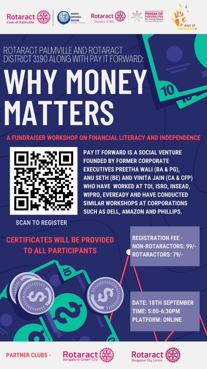 Why Money Matters by Rotaract Palmville